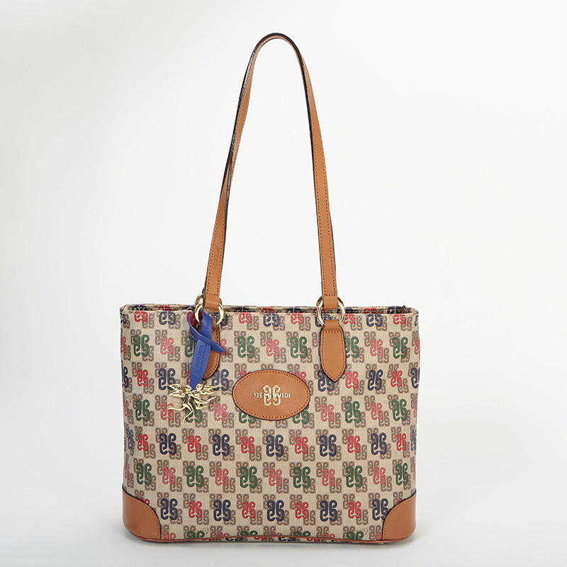 TOTE BAG WITH ZIP S107B3099_90